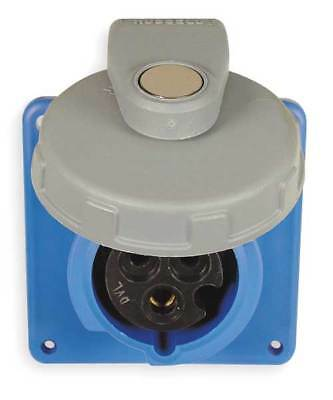 Watertight Pin and Sleeve Receptacle, Hubbell Wiring Device-Kellems, HBL320R6W