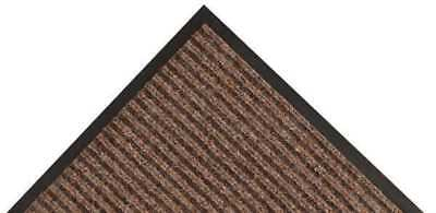 Carpeted Entrance Mat,Brown,4ft. x 6ft. NOTRAX 117S0046BR
