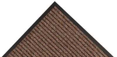 NOTRAX 117S0046BR Carpeted Entrance Mat,Brown,4ft. x 6ft.