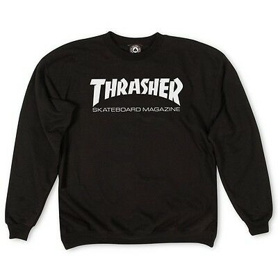 Thrasher - Skate Mag Mens Crew Black