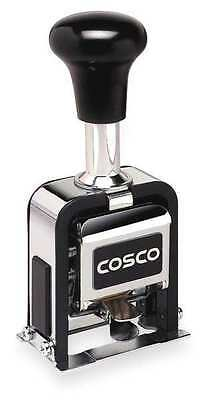 Self-Inking Numbering Machine Stamp, Cosco, 038731