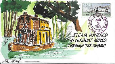WILD HORSE HP STEAMBOATS  STEAM POWERED RIVERBOAT    Sc 2406