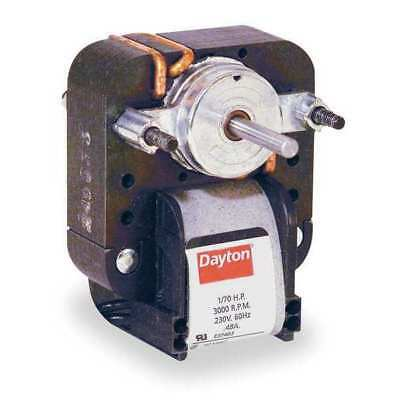 DAYTON 4M076 C-Frame Motor, Shaded Pole, Auto, 1 In. L