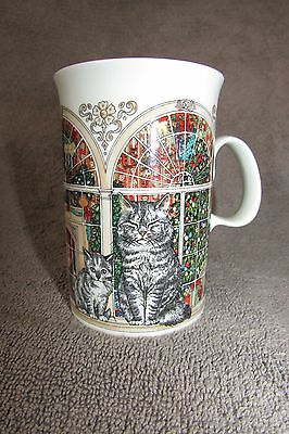 CATS AT CHRISTMAS Collectible Cup Mug By Dunoon of Scotland