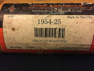 Southwest Oilfield Products Grayloy Washpipe 1954-25