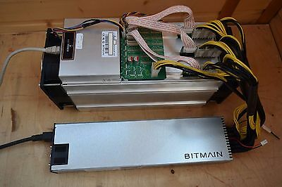 Antminer S7 batch 12 + Bitmain PSU - Hash Rate: 4.86 TH/s ±5%