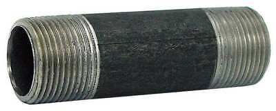 "1/2"" MNPT x 6-1/2"" TBE Black Pipe Nipple Sch 40"