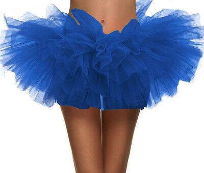 Women's 5 Layer Running Skirt Dance Dress Up Fun Run 5K Warrior Dash Tutu Skirt