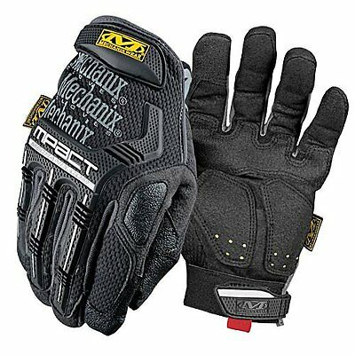NEW - Mechanix Authentic BLACK / GREY MPact MPT Series Safety Gloves X-LARGE XL