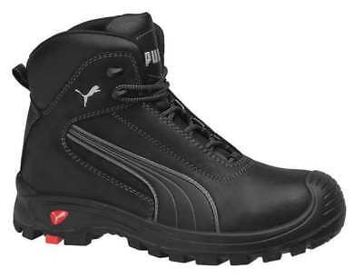 PUMA SAFETY SHOES 630515 13 Boots,Composite Toe,6In,Black,13,PR