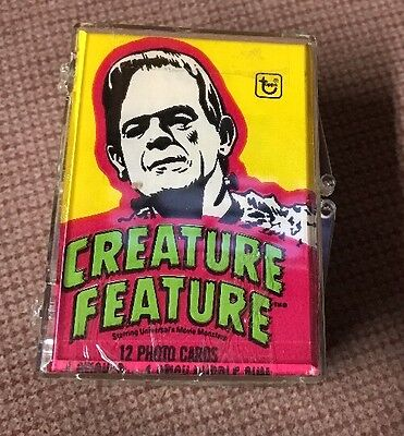 1980 Topps Creature Feature Complete Set (88) Cards Plus 22 Stickers W/ Wrappers