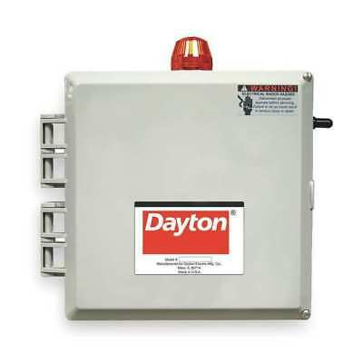 Duplex Alternating Control Panel Motor/Pump Control Box, Dayton, 2PZH8