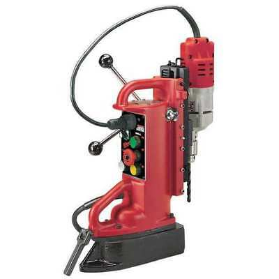 MILWAUKEE 4204-1 Magnetic Drill Press, 600RPM, 1/2 In Steel