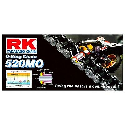 RK 520MO-120 O-Ring Motorcycle Chain - 520 pitch / 120 Link