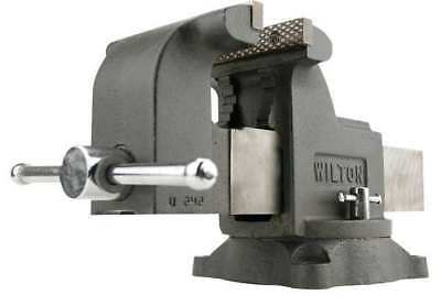 "4"" Standard Duty Combination Bench Vise with Swivel Base WILTON WS4"