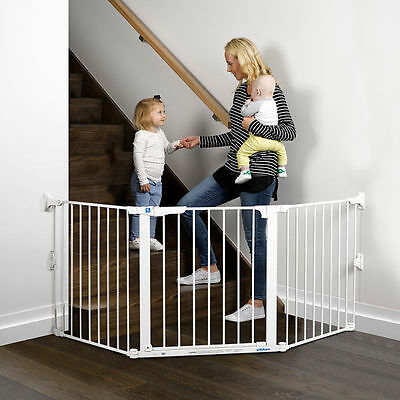 NEW Childcare Baby Child Extra Wide Safety Flexi Gate