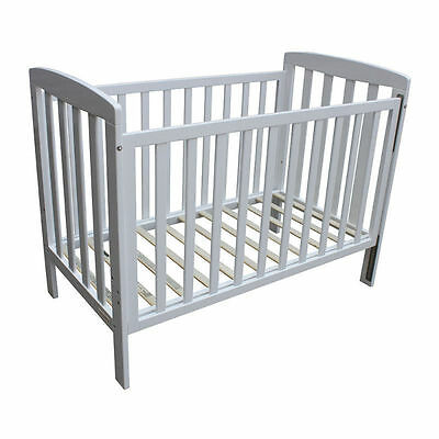 NEW BebeCare Baby Cot Bed Bristol WHITE