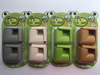 "4Pcs Baby Safety Anti-collision Protector 2 1/4""Cushion Table Corner Anti-crash"