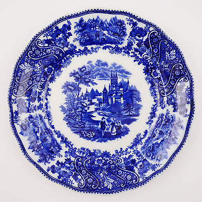 "Burgess & Leigh Middleport Pottery Non Parell Plate (9 7/8"")"