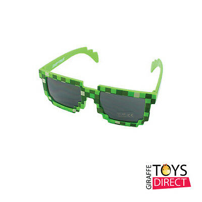 NEW Minecraft Sunglasses Green - Minecraft Toys - Free Shipping Australia Wide