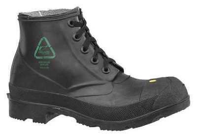 ONGUARD 86604 08 00 Work Boots,8,Lace Up,PVC,6inH,Black,PR