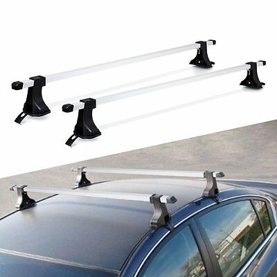 """54"""" Top Roof Cross Bars Crossbars Luggage Cargo Carrier Rack Mount SUV Truck"""
