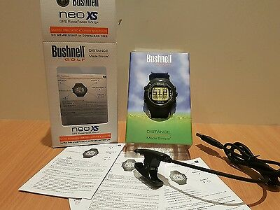 Bushnell Neo XS GPS Golf watch Range Finder