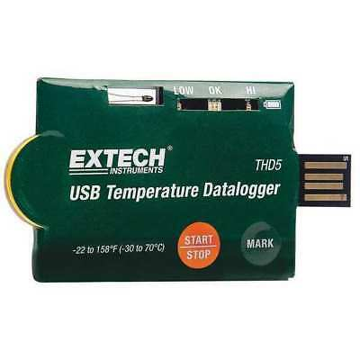 EXTECH THD5 One Time Usage Data Logger, USB, NTC