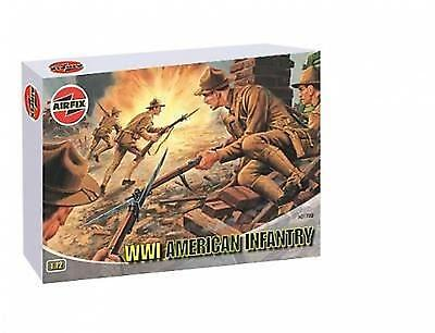 Airfix Wwi American Infantry Scala 1:72 A01729