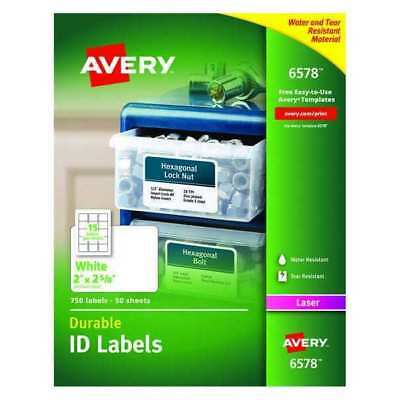 Laser Label, White ,Avery, 6578