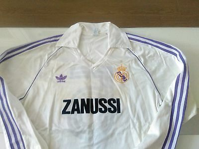 Camiseta shirt  Real Madrid  1983 match worn