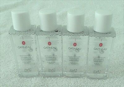 Gatineau Gentle Eye Make Up Remover 50Ml X 4 (200Ml)  Travel Sizes
