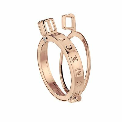 Emozioni Capri Rose Gold Plated Sterling Silver Keeper - 25mm DP485