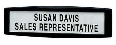 Name Plate, Black ,Fellowes, 75906