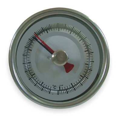 Bimetal Thermom,3 In Dial,150 to 750F