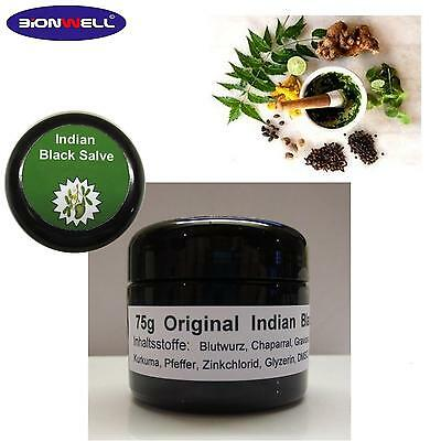 75 g Glastiegel Original Indian Black Balm Salve Schwarze Salbe Adrian Jones