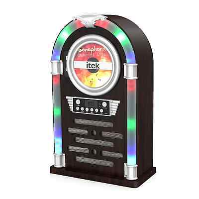 Itek I60018CD Bluetooth Jukebox with CD Player and FM Radio