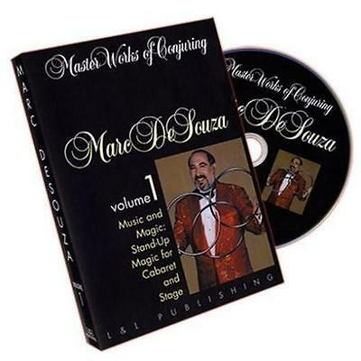 Master Works of Conjuring  DVDs by Marc DeSouza All 4 Volumes