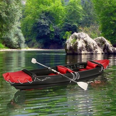 Inflatable Canoe 2 x People, River Rafting, Canoeing, River Boat, Dinghy, Sea