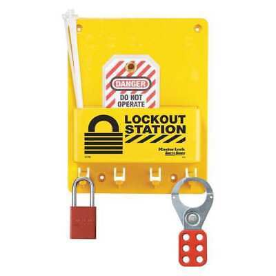 Lockout Station,9-3/4 In.H MASTER LOCK S1705P1106