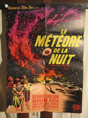 Affiches Cinema  Sf Usa Meteore De La Nuit 1953