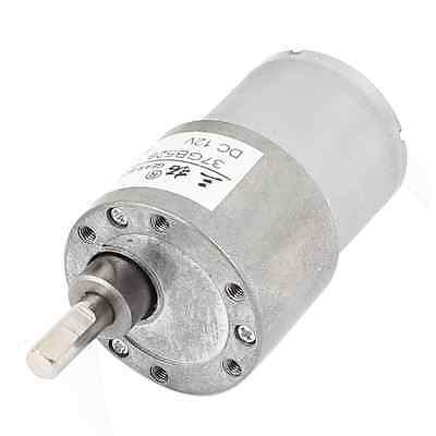 sourcingmap DC12V 38RPM High Torque DC Gear Box Reducer Variable Speed Motor