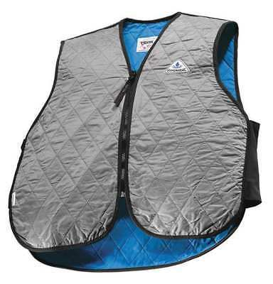 Large Nylon Cooling Vest, Silver TECHNICHE 6529-SILVERL