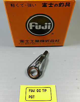 1pc Rare Fuji Ring Gold Cermet Tip Top Guide Fishing Rod PGT Choose Size