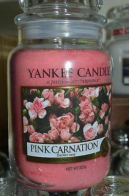 Yankee Candle PINK CARNATION 623 gr.