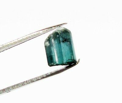 Teal Green Blue Tourmaline 2.76 Cts Indicolite Rough  Verde Azure 146O