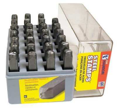 CH HANSON 21151 3/8 in. Heavy Duty Letter Set