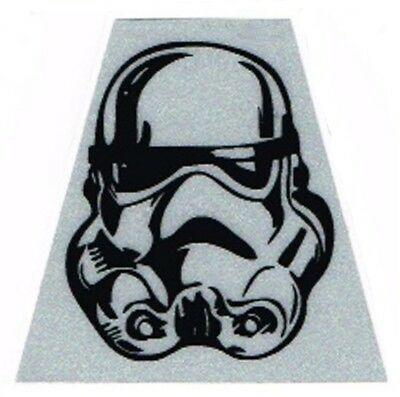 Tetrahedron Decal - Stormtrooper White Fire Helmet Decal (Pack of 2)