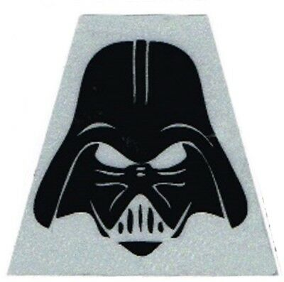 Tetrahedron Decal - Darth Vader Black Fire Helmet Decal (Pack of 2)
