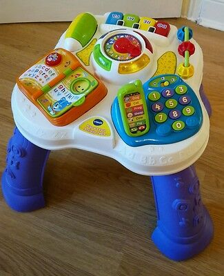 Vtech play and learn activity table baby toy learn musical toddler